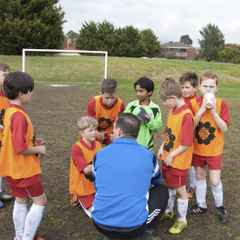 Training sessions for Under 8's, 9's, 10's and 11's