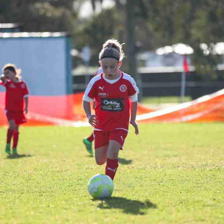 Under 8-11 girls training starts on Thursday 15th February at fox road from 5:30pm
