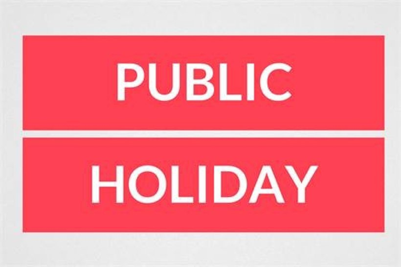 Image result for Public Holiday