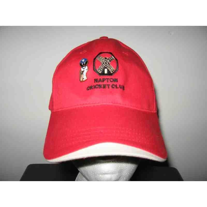 Peaked cricket cap