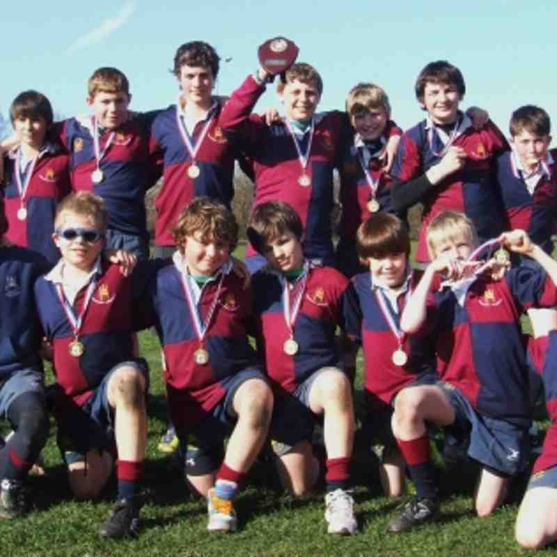 U12's @ NLD Finals shield WINNERS 25/3/12