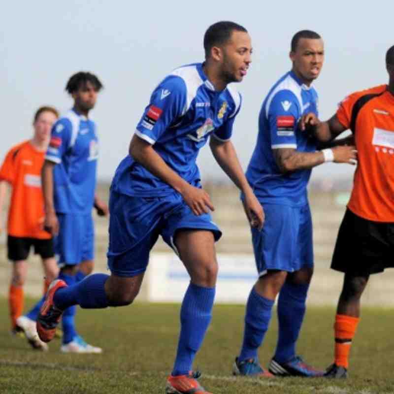 AVELEY FC V WALTHAM FOREST