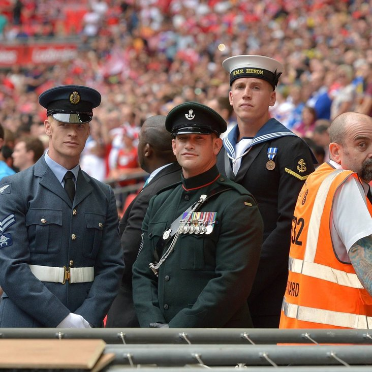 ARMY REPRESENTATION AT CHALLENGE CUP<