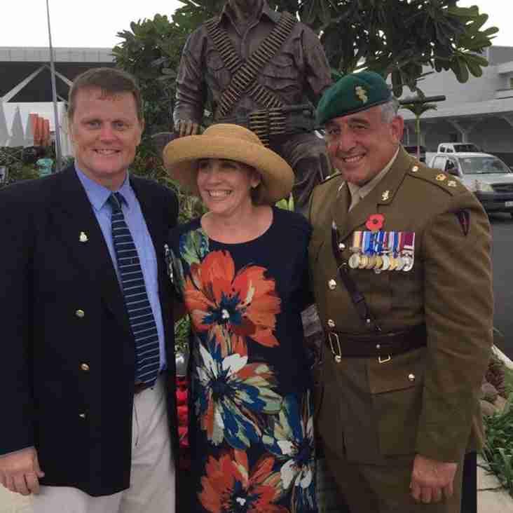 HOMAGE TO SAS HERO FACILITATES SOLDIERS LEAGUE REUNION
