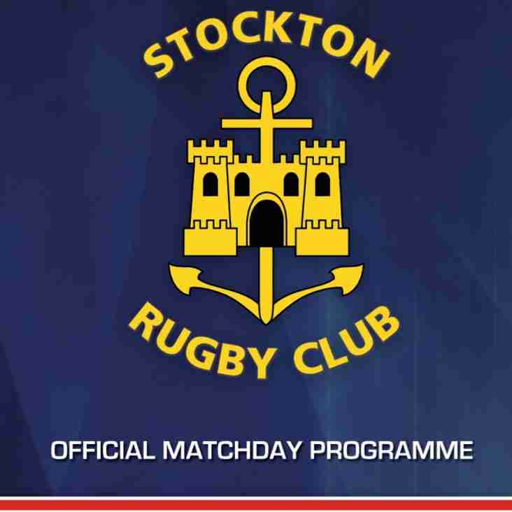 Stockton RFC Official Match Day Programme