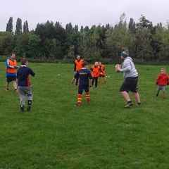 Touch Rugby the first session
