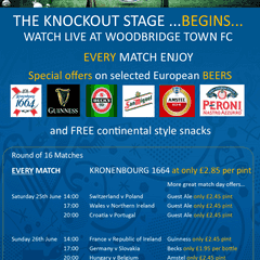 The Knockout stages begin