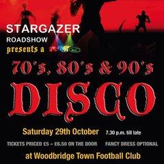 70's 80's 90's Halloween Disco