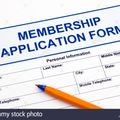 2018/19 Membership Application form: ALL Members & Players