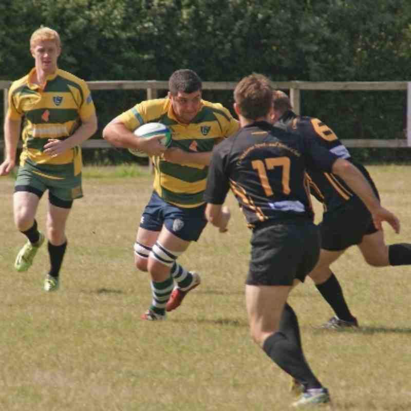 Berkshire Cup: Reading v Crowthorne - 09-08-14