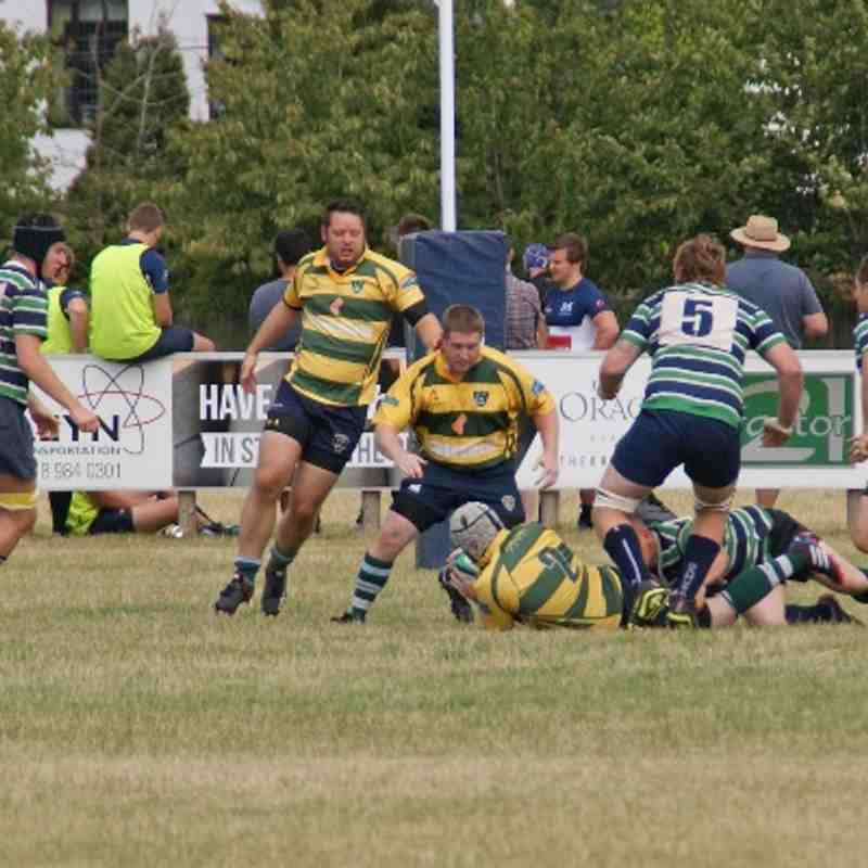 Berkshire Cup: Reading v Abbey - 09-08-14