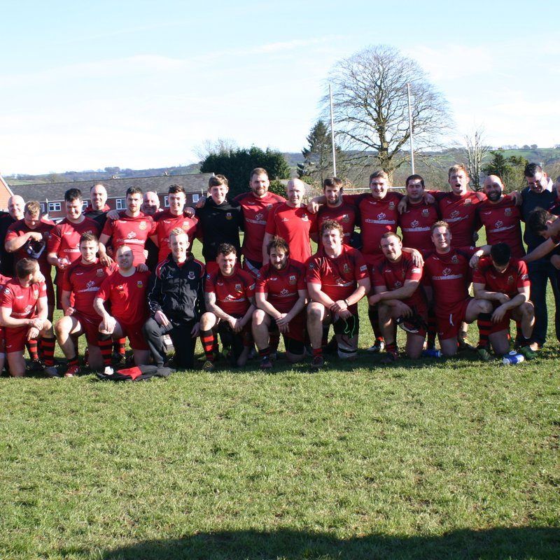 Amman United v Cardigan RFC (Bowl Semi Final) 25th March 2017