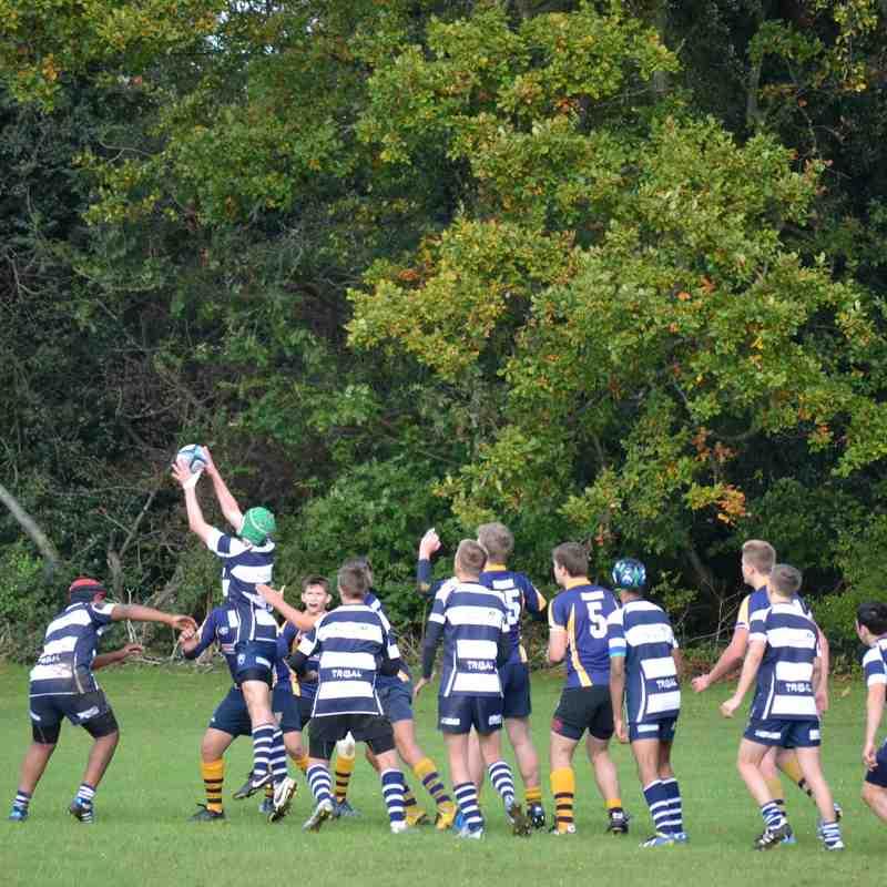 WPRFC U15's A v Sevenoaks 19/10/14 KC2