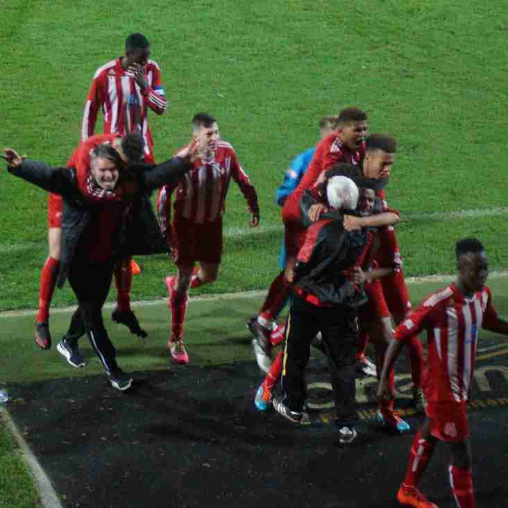 FA Youth Cup: Romulus topple Notts County at Meadow Lane