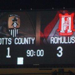 Notts County v Romulus Academy (FAYC)