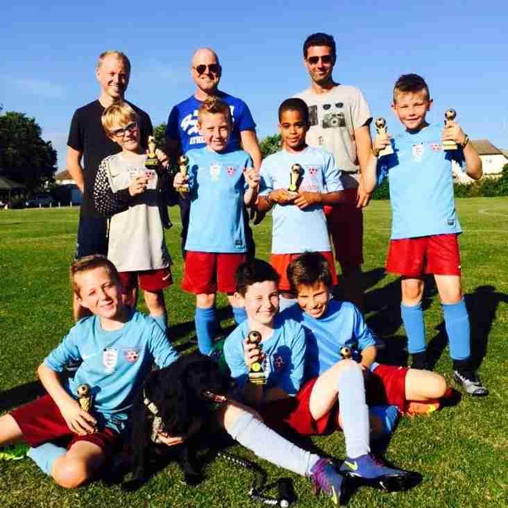 Upper Beeding Under 10's Tournament Winners!