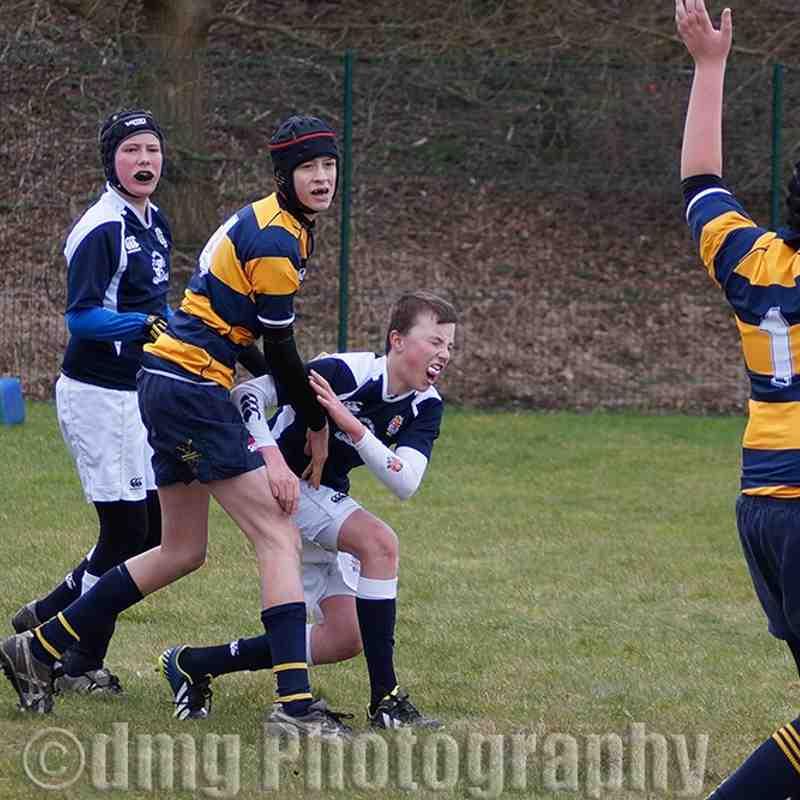 Ryton U13's v Durham City Sunday 8th March