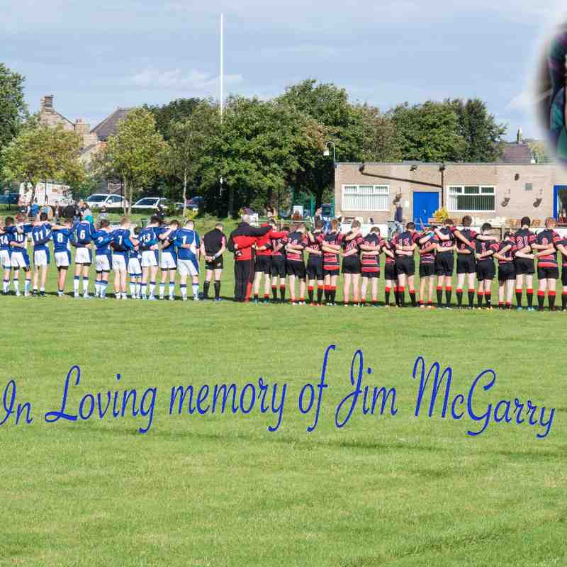 Ryton U16's V Blaydon Memorial Match for Jim McGarry