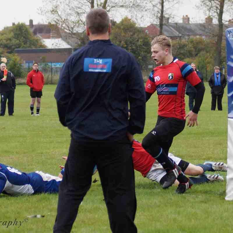 Ryton U16's v Gateshead. 11th October 2015
