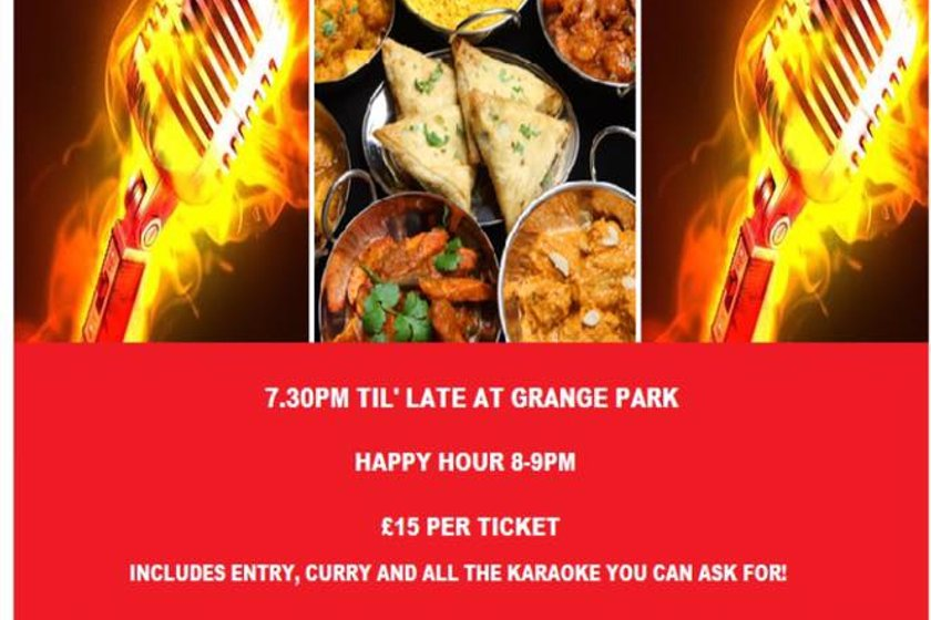 Curry-Oke - 16th September