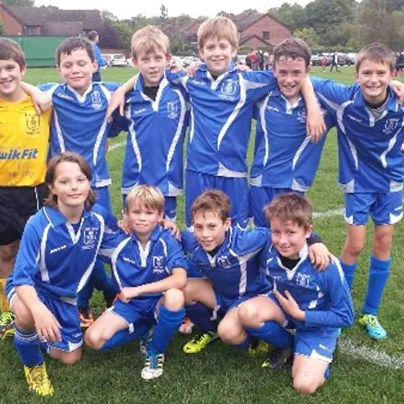 heather hawks under 11s