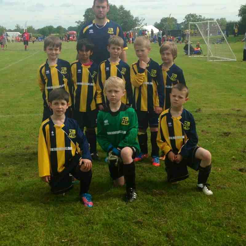 Mile Oak Wanderers FC Under 7s team