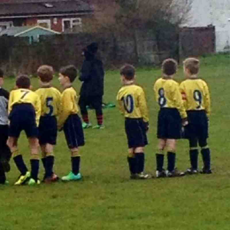 Leighton United U8  V's Luton Boys