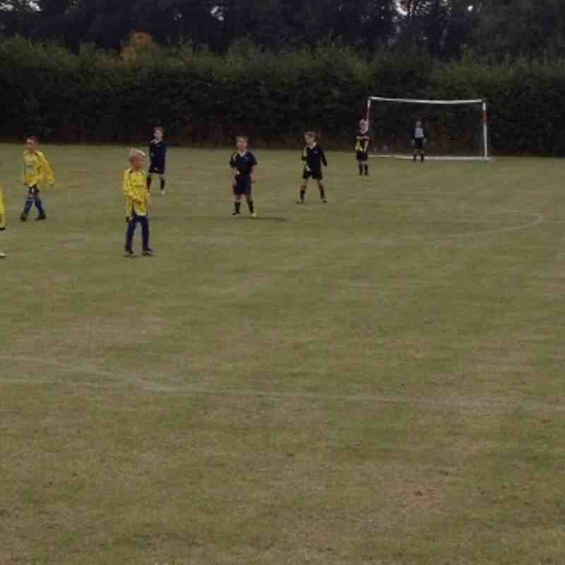 Leighton U9V Eastcote -15th Sept
