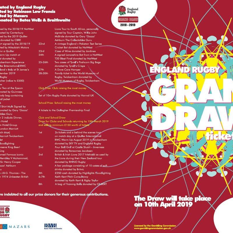 RFU Grand Draw