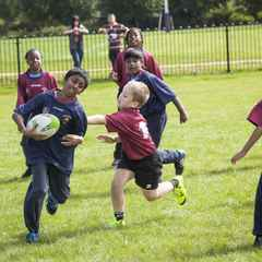 SUMMER HOLIDAY RUGBY FUN FOR CHILDREN