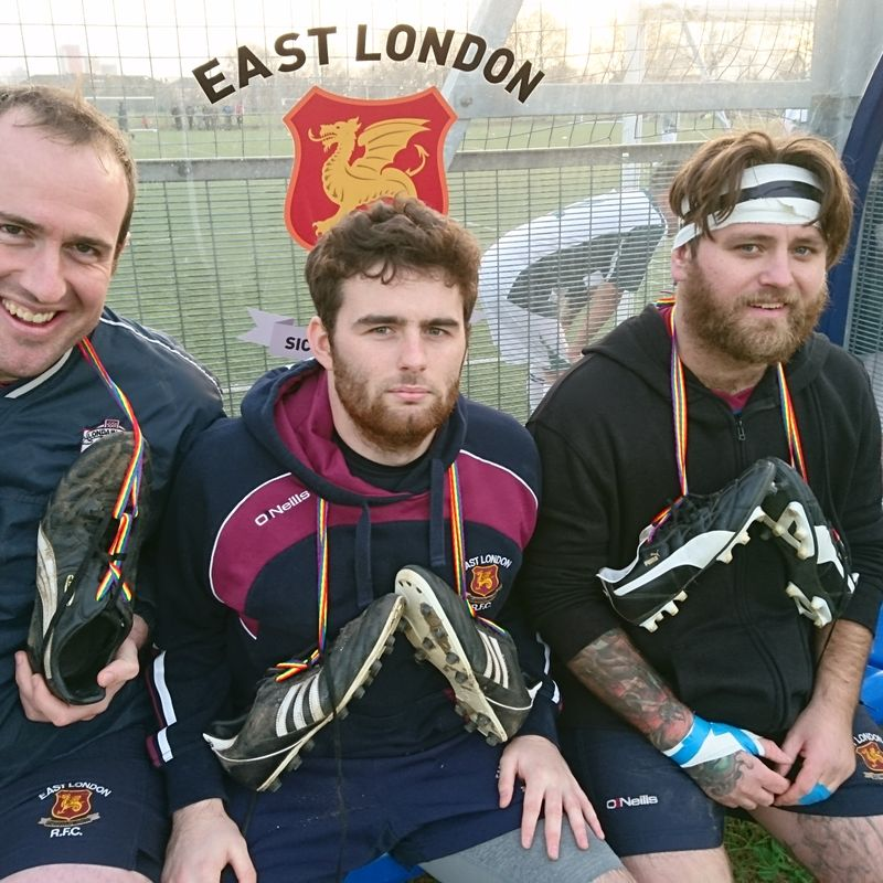 EAST LONDON SUPPORTS RAINBOW LACES CAMPAIGN