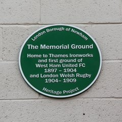 Heritage Green Plaque unveiling