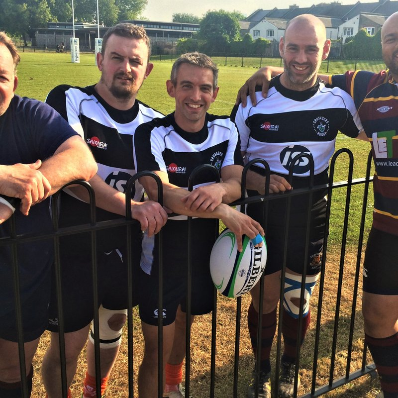 EAST LONDON PLAYS RUGBY AND TACKLES CANCER