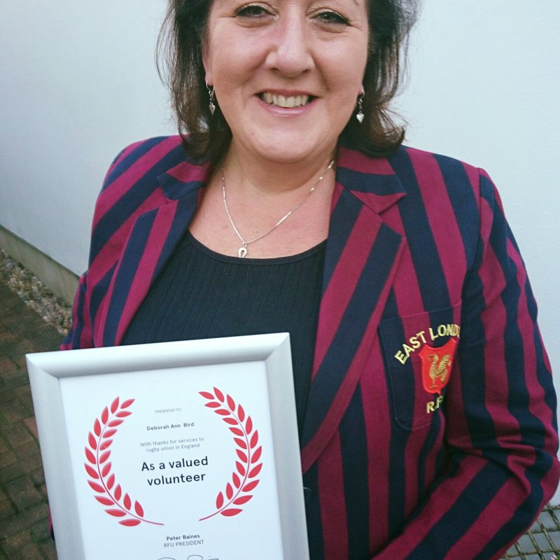 'BIRDY' COMMENDED IN VOLUNTEER AWARDS