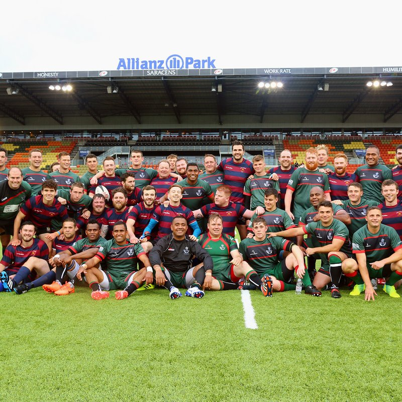 EAST LONDON RUN OUT AT HOME OF SARACENS