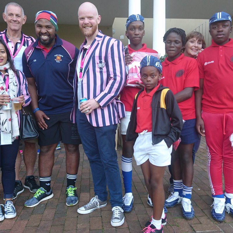 EAST LONDON RFC SUPPORTS TOWNSHIP PROJECT