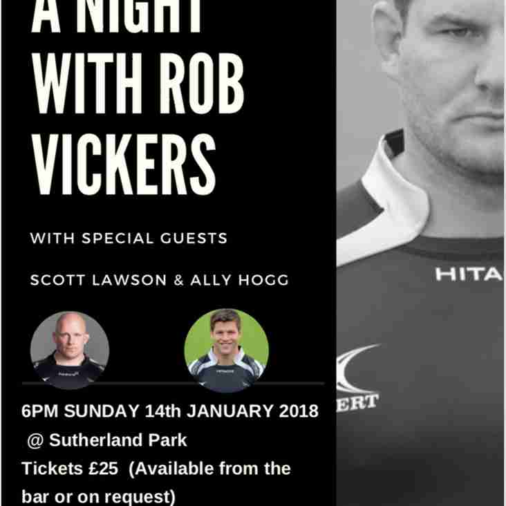 A Night with Rob Vickers