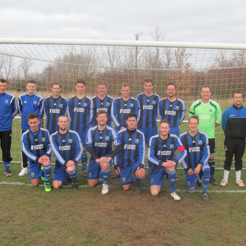 First Team lose to Arlesford Colne Rangers   1 - 7