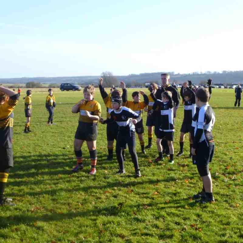 Marlborough U11s v Devizes ( Dec 16th )
