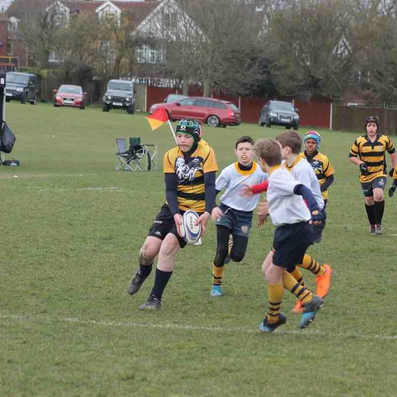 Under 11 Kent Qualifiers Action