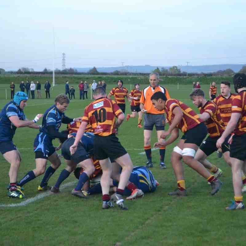 20th April 2016; Melksham v Oldfield
