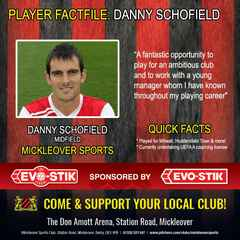 Player NEWS: Danny Schofield Signs For Mickleover Sports