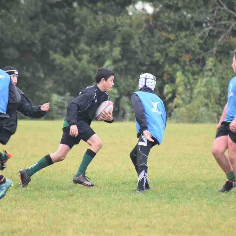 U14's 23rd October Extra training session.
