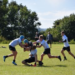 A New Season of U15's. Training with Stonehouse Sharks