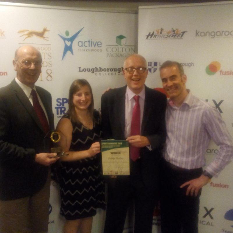 Dishley Loughborough Wins Sports Award