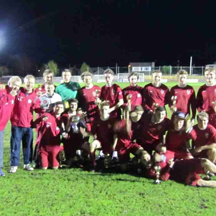 BTYFC U18 Templars win League Cup for second year running