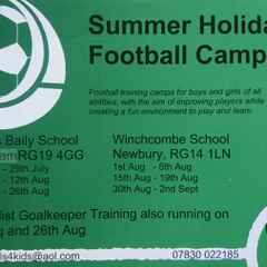 Footy Skills 4 Kids: Summer Football Camps