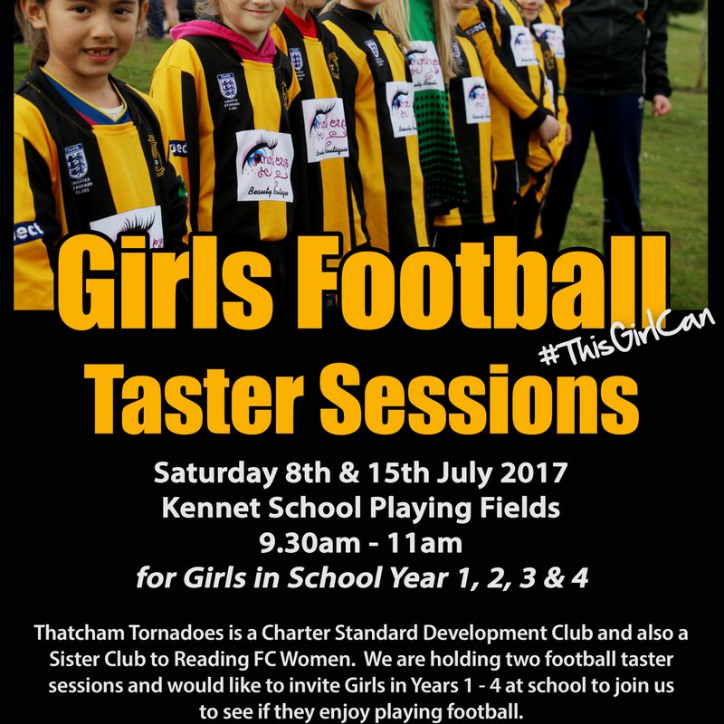 Girls Football Taster Sessions - 8th & 15th July 2017