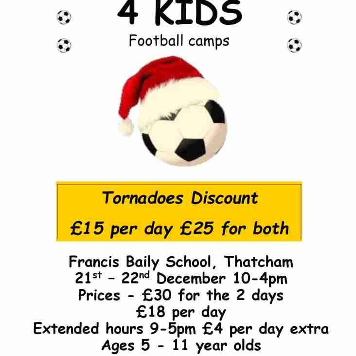 Footy Skills 4 Kids - Christmas Football Camp