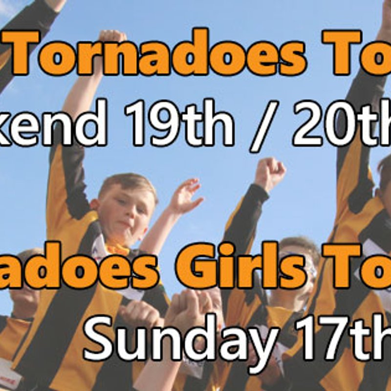 ** NEW DATE **  DOUAI PARK / THATCHAM TORNADOES GIRLS TOURNAMENT